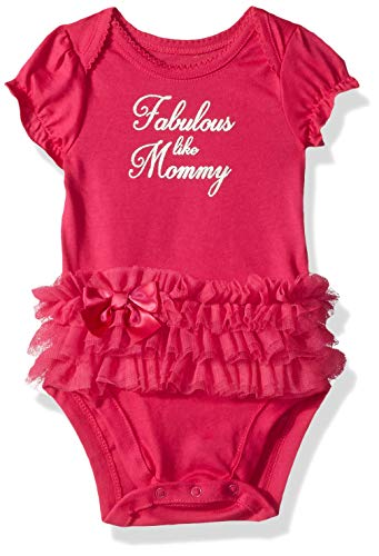 Price comparison product image The Children's Place Baby Girls Novelty Graphic Short Sleeve Bodysuit,  WATERMELONSLICE,  18-24MONTH