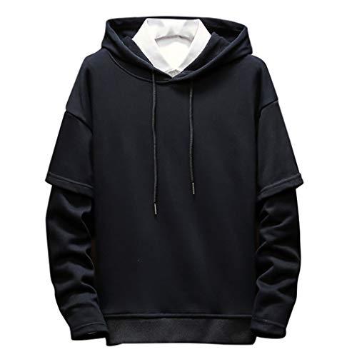 Sweatshirt Homme à Capuche Manches Longues Oriental Kpop Japonais POPLY 2019 Hiver Adolescent Sweat Pull Hoodies pour Hommes Garçon Casual Streetwear Homme Veste Vêtements de Sport