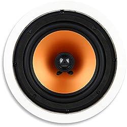 top 10 sony ceiling speakers Micca M-8C 8-way 1-inch silk tweeter with 2-way ceiling speaker (white each)