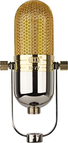 MXL Ribbon Microphone, XLR Connector, Chrome/Gold R77
