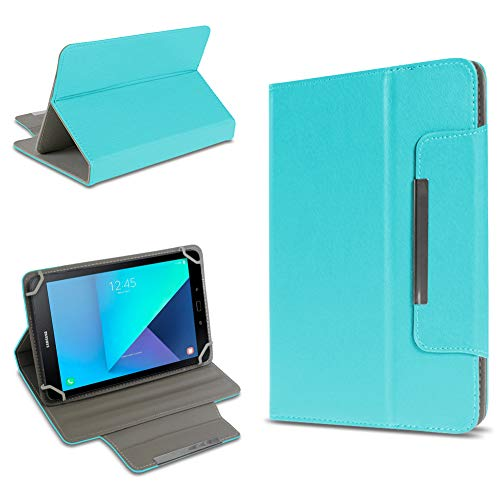 UC-Express Tablet Tasche kompatibel für Samsung Galaxy Tab Active 2 Hülle Tablet Schutzhülle Hülle Schutz Cover, Farben:Türkis