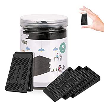 Plastic Shims,Furniture Pads Levelers,35 PC,Strong and Durable DIY Waterproof Rubber Feet Have Extreme Weight Capacity - Ideal Table Shims Non Slip for Furniture Table Chair Cabinet,Table Leg