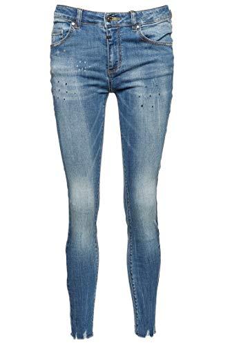 Tigha Damen Jeans Ania Blau 26