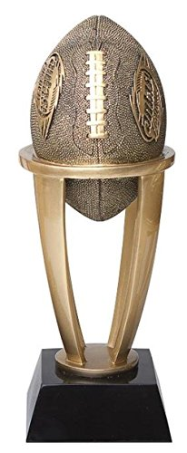 Decade Awards Fantasy Football League Gold Tower Trophy - FFL Award - 7.5 Inch Tall - Engraved Plate on Request