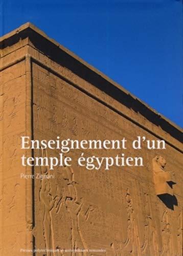 Enseignement d'un temple égyptien