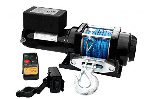Elektrische ATV Seilwinde 12 V 4000 Lbs Funk Kunststoffseil Dyneema