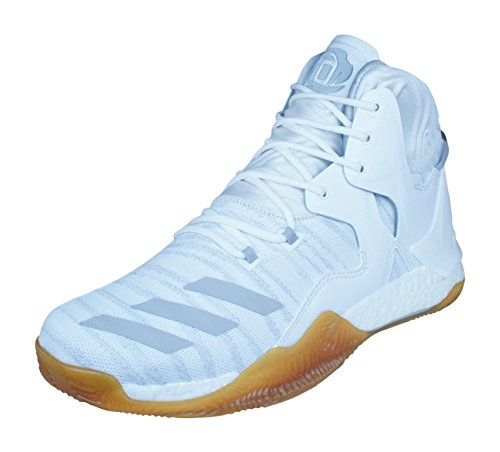 adidas D Rose 7 Primeknit Mens Basketball Sneakers/Shoes-White-19