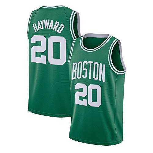 FURUN Camisetas NBA Boston Celtics # 0 Jayson Tatum # 8 Kemba Walker # 20 Walter Ray Allen Camisetas de Baloncesto Transpirables Swingman