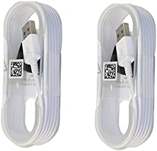 Samsung OEM 5-Feet 3-Pack Micro USB Data Sync Charging Cables for Samsung Galaxy Note 5, Galaxy S6 Edge+, S7, S7 Edge, 3-Pack - Non-Retail Packaging ECB-DU4AWE