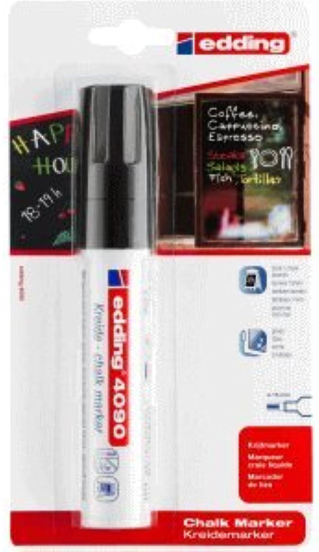 Edding Edding Edding 6 x Kreidemarker 4090 4-15mm schwarz B00H2DHRK4     | Outlet Store Online  6d201f