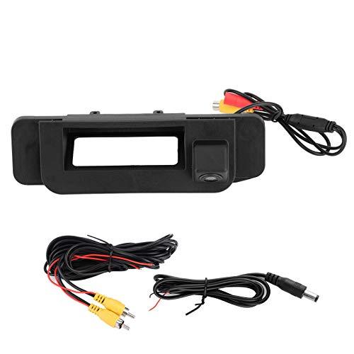Qiilu Telecamera posteriore impermeabile 170 ° CCD HD per tronco per Mercedes-Benz Classe C W205 CLA C200L C180L C260L