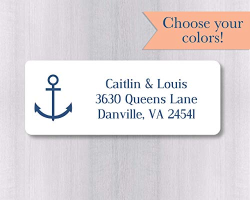30 Custom Viking Ship Art Personalized Address Labels