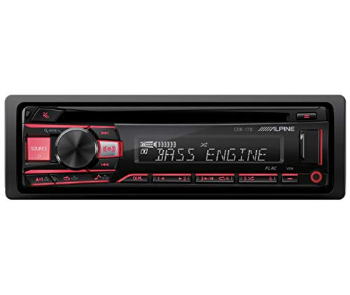 Alpine Single DIN Car Stereo Receiver