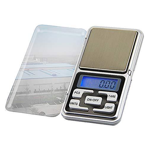 CHENC Digitale mini-zakweegschaal, zeer nauwkeurige digitale zakweegschaal, 100/0,01G, sieradenweegschaal met LCD-display voor keuken, levensmiddelen, sieraden, drug, koffie