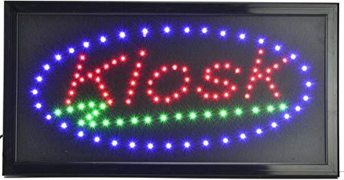 KIOSK Elektronisches LED-Schild - das originale intelligente leuchtende LED-Schild für professionelle, leistungsstarke, animierte, blinkende Anzeigeschilder KIO01