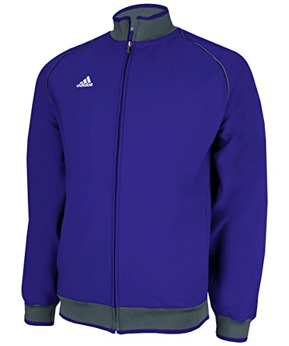 Adidas Game Day 2.0 Mens Jacket S Purple-Lead