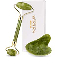 Euasoo Jade Roller and Gua Sha Tools Set