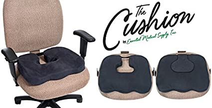 Essential Medical Supply The Cushion, the only 3-in-1 Designed to be a Molded Comfort, Tailbone or Donut Cushion