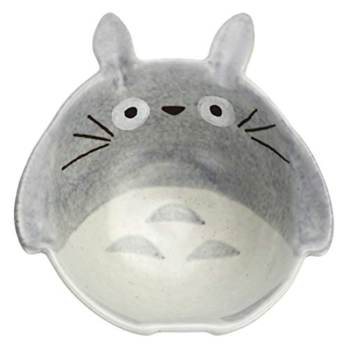 CoolChange Süße Totoro Keramik Schüssel, 11cm Durchmesser, Hand bemalt
