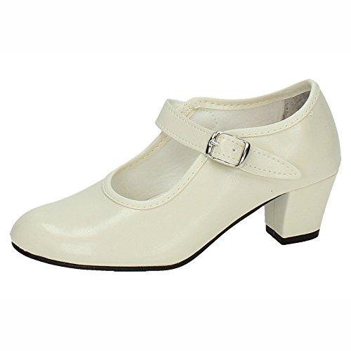 Zapato flamenco beige 💕