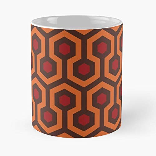 King 2001 The Nicholson Jack Stanley Steven Shining Kubrick Pattern Carpet Best 11 Ounce Ceramic Coffee Mug .!