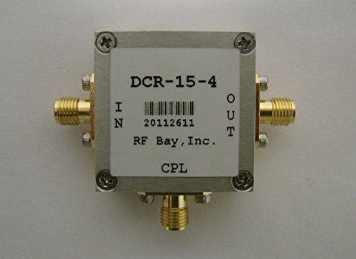 5-1000MHz 20dB Directional Coupler DCR-20-4, New, SMA
