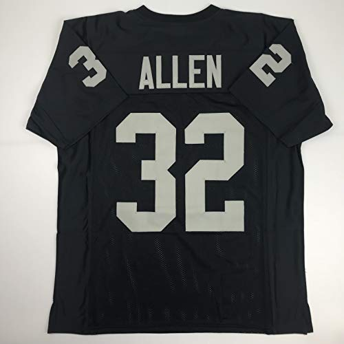 Unsigned Marcus Allen Oakland Black Custom Stitched Football Jersey Size Men's XL New No Brands/Logos