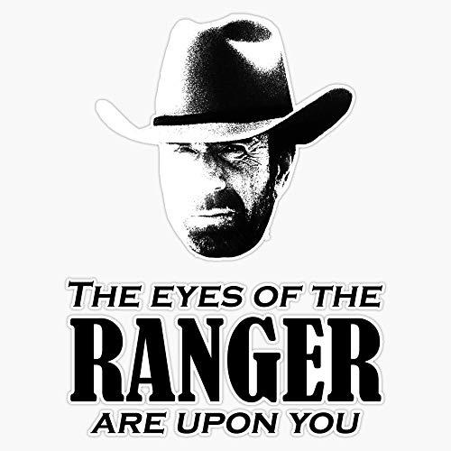 Generic Walker Texas Ranger Merchandise (Chuck Norris) Sticker Decal Bumper Sticker 5 inches