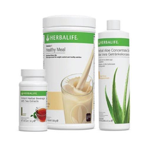 HERBALIFE Programa saludable de fruta de manzana y canela, 550 g