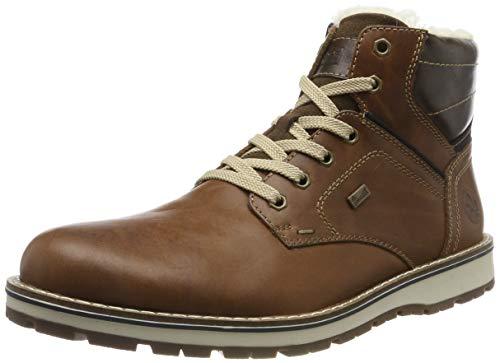 Rieker Herren 38423 Klassische Stiefel, Braun (Amaretto/Pazifik/Toffee 25), 47 EU