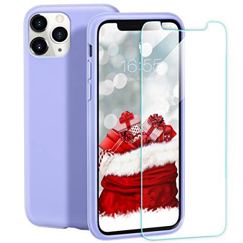 Fundas Iphone 11 Pro Max Silicona Lila Marca ZELAXY