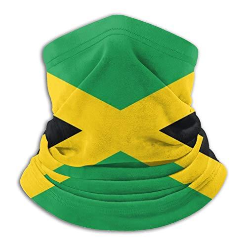 YBEAYQYXR Pasamontañas unisex de microfibra con diseño de bandera de Jamaica, protector solar, resistente al viento, para exteriores