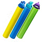 Water Guns for Kids 3 Pack Foam Water Blaster Squirt Gun Shooter Swimming Pool Pump Foam Water Soaker Super Blasters Soaker Summer Beach Toys Outdoor Swimming Pool Party Games Toys Toddlers Boys Girl