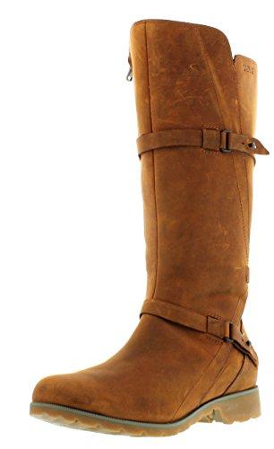 Teva Damen De La Vina W's Kurzschaft Stiefel, Braun (561 Bison), 36