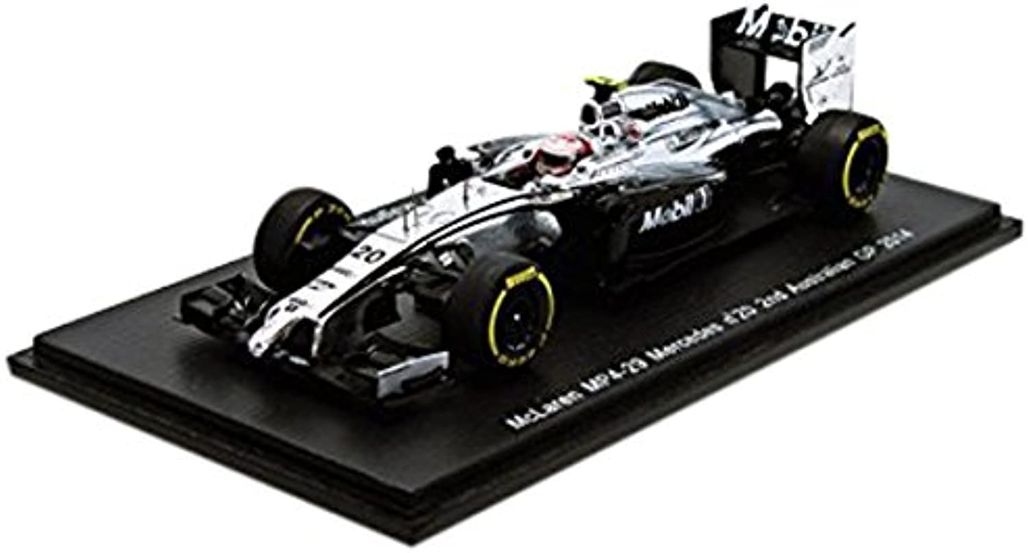 Spark McLaren MP4-29 2nd Australian GP 2014 Race Version - Kevin Magnussen 1 43 Scale Resin Collectors Model