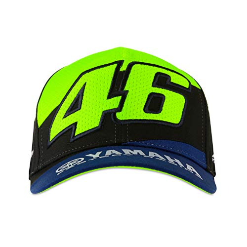 Valentino Rossi Yamaha Dual Cap Chapeau Bleu Royal One