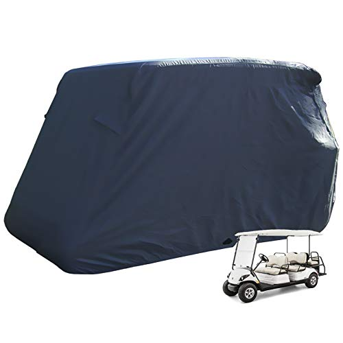powerful Moveland 6 Passenger Golf Cart Storage Cover Compatible with EZ GO, Club Cars, Yamaha -…
