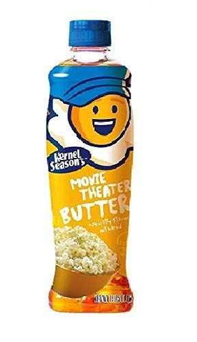 Kernel Season's Movie Theater Popcorn Oil, Butter, 13.75 Ounce (Pack of 6)