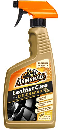 Armor All 18934 Leather Care with Beeswax, 16 fl. Oz
