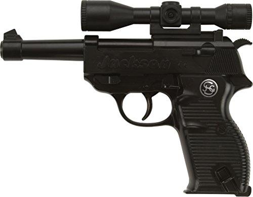 Schrödel- Pistolet Jouet Jackson 19,5cm 13-Coups, 3000511, Taille Unique