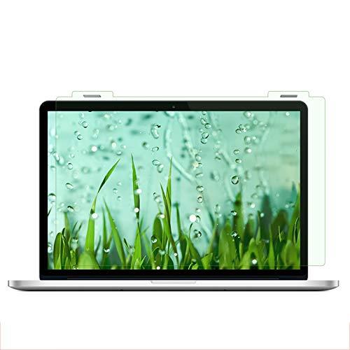 Folie Laptop Display matt, Anti-Blaulicht, Strahlenschutz, Fleckenbeständig, Aufhängen Am Monitor, Green Screen Protector antireflexfolie entspiegelt(Size:17in(395×247mm))