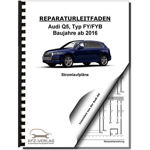Audi Q5 Typ FY ab 2016 Schaltplan Stromlaufplan Verkabelung Elektrik Pläne