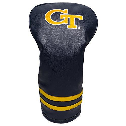 Team Golf NCAA Georgia Tech Yellow Jackets Vintage Driver Golf Club Headcover, Form Fitting Design, Retro Design & Superb Embroidery