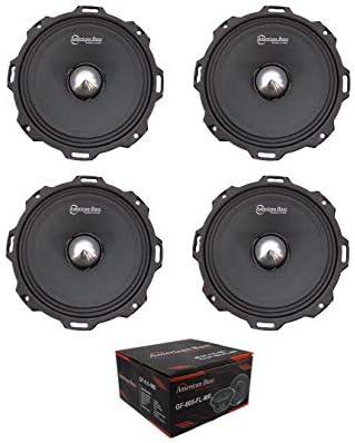 x4 American Bass Godfather GF 605 FL MR 6 5 2600W 4 Ohm Midrange Bullet Speaker product image