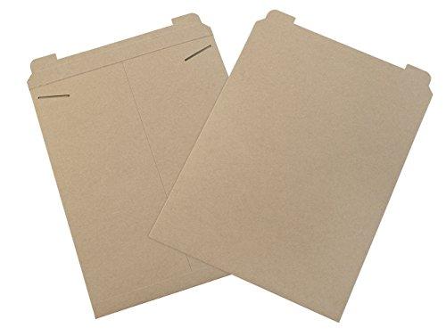 Aviditi Flat Mailers 17quot x 21quot Kraft RM7