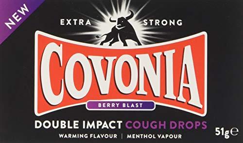 Covonia Double Impact Lozenges - menthol lozenges