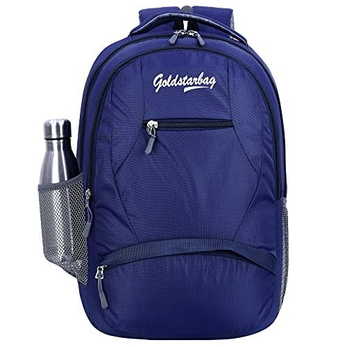 Medium 30 L Laptop Backpack 30 L Casual Waterproof Laptop Backpack/Office Bag/School Bag/College Bag/Business Bag/Unisex Travel Backpack (Navy Blue)