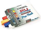 Karakal DUO Supergrip replacement racquet grip - tennis/badminton/squash - Random Colour x 6