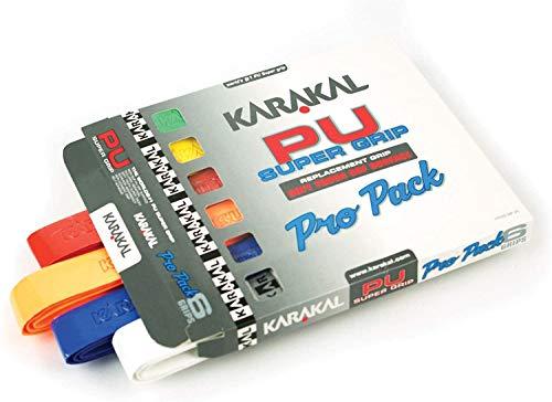 Superagarres de poliuretano de colores (lote de 6), de Karakal