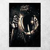ZFLSGWZ Lets Dance Poster Daft Punk Malerei Leinwand